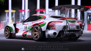 Tom´s Castrol Toyota FT-1 Super GT, ¡impresionante!