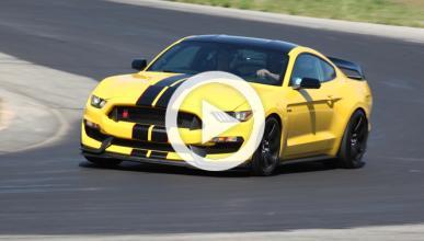 El nuevo Shelby Mustang GT350R, a fondo en circuito