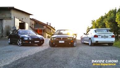 Prueba épica: Delta Integrale, Celica GT Four y Escort RS