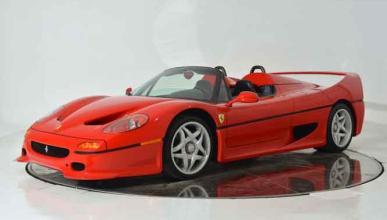 Ferrari F50 de 1995, a subasta