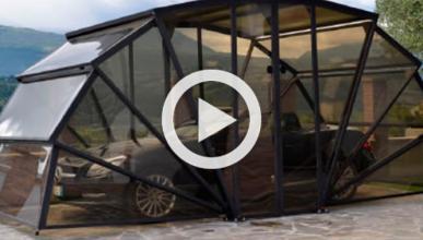 Un garaje móvil para aparcar tu coche