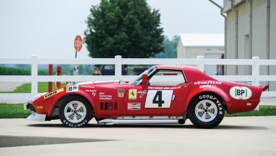 Corvette L88 RED NART subasta lateral