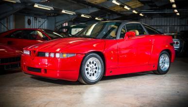 Sale a la venta un raro Alfa Romeo SZ… ¡en Nueva York!
