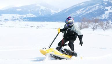 Moto de nieve Mattracks Powerboard