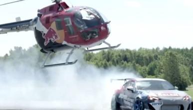 Vídeo: Locura de Felix Baumgartner con un helicóptero