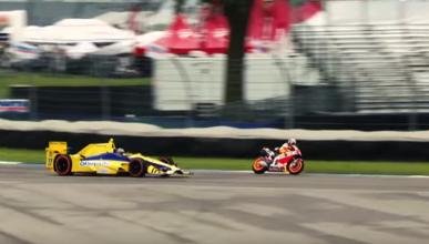La Honda de Dani Pedrosa  Vs. Indycar, ¿quién gana?