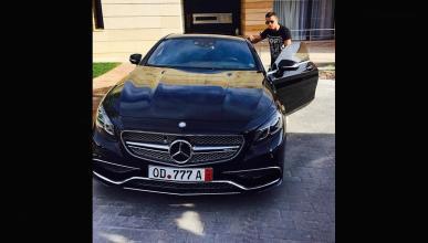 Cristiano Ronaldo estrena coche: Mercedes S 65 AMG Coupé