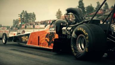 Así sufren los neumáticos de los dragsters