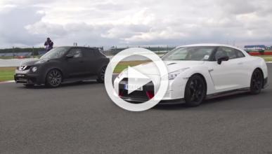 El brutal Juke-R 2.0 se enfrenta al Nissan GT-R Nismo