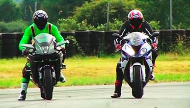 Video: Kawasaki H2R contra BMW S1000R