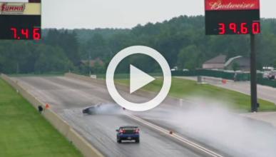 Vídeo: este Nissan GT-R se estrella a los 10 segundos