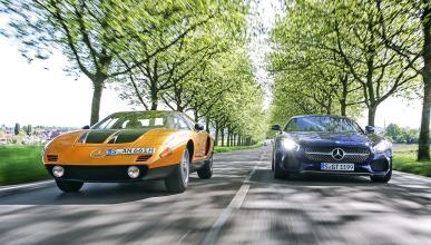 Comparativa ayer y hoy: Mercedes C 111 vs AMG GT S
