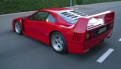 Subastado un Ferrari F40 por más de un millón de euros