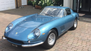 John Terry se compra un Ferrari 275 GTB de ¡2 millones!