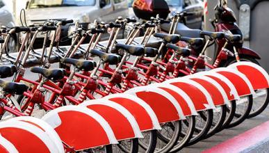 Las ciudades españolas con la mejor bicicleta pública