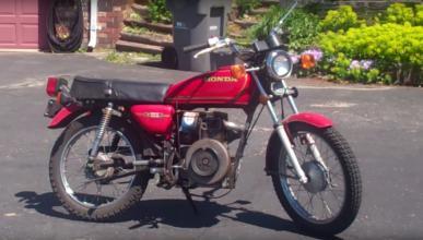 Motos-diésel-Honda-CB-232D