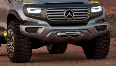 ¿Será así el nuevo Mercedes Clase G?