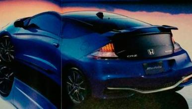 Honda CR-Z facelift trasera
