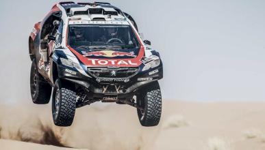 Peugeot se prepara para el Dakar 2016 en China