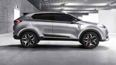 Cazan al nuevo SUV MG GS en Europa