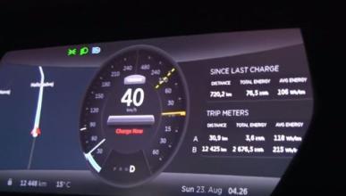 Récord de autonomía para el Tesla Model S P85D