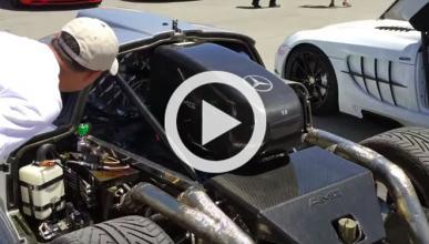 Vídeo: así son las tripas del Mercedes CLK GTR