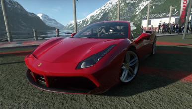 Ferrari 488 GTB Driveclub PS4