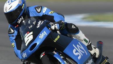 Libres Moto3 Silverstone 2015: Fenati se hace fuerte