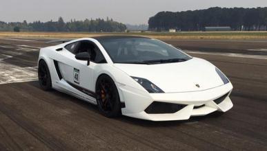 Vídeo: un Lamborghini Gallardo de récord, ¡a 377 km/h!