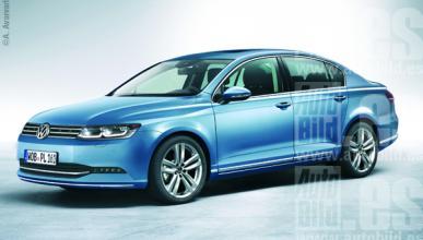 Volkswagen Passat 2014, más espacio y tecnología