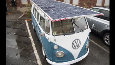 La única VW T1 que hace la fotosíntesis