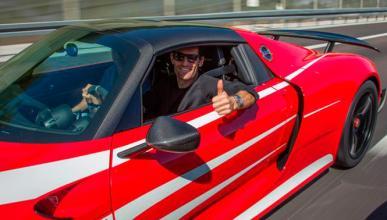 Mark Webber se compra un Porsche 918 Spyder: ¡toma regalo!