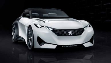 Peugeot Fractal Concept frontal