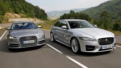 Comparativa: Jaguar XF vs Audi A6. Dos berlinas de altura