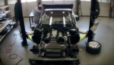 Vídeo: 'timelapse' de la restauración de un Corvette