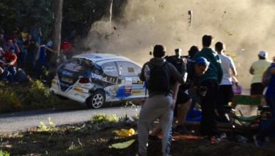 Siete fallecidos en un accidente en el Rally de A Coruña