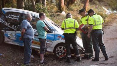 Muere una niña herida en el accidente del Rally de A Coruña