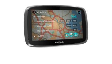TomTom Trucker 5000: el GPS camionero