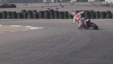 Video: Marc Márquez entrenando con una Supermotard