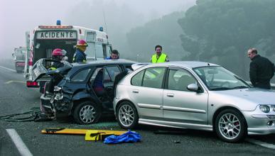 100 víctimas de tráfico, vivas si hubiesen llevado cinturón