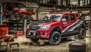 Toyota Hilux con motor V8