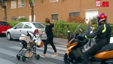 Cuidado con la vuelta al cole en moto: los 7 peligros