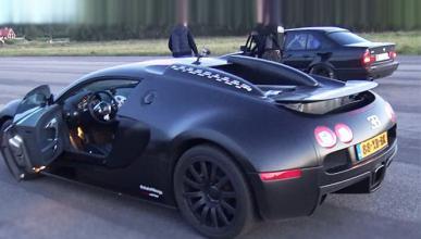 Drag Race monumental: BMW M5 contra Bugatti Veyron