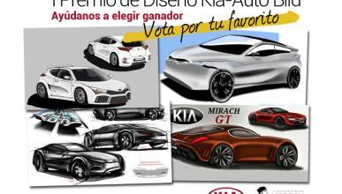 I Premio de Diseño Kía - Auto Bild: ¡vota y gana premios!