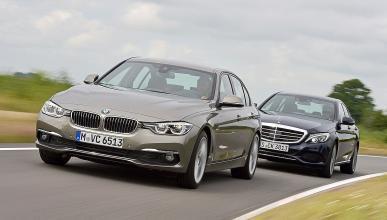 Cara a cara: nuevo BMW Serie 3 vs Mercedes Clase C