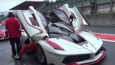 Vídeo: Ferrari FXX K, rey de la lluvia