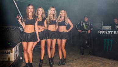Chicas Monster Rallycross
