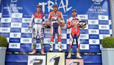 Finaliza el Mundial de Trial 2015;los 4 primeros, españoles