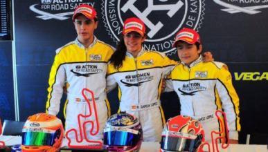Marta García entra en la historia del karting