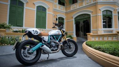 Edición Limitada Ducati Scrambler preparada por Paul Smart